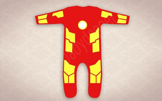 Baby Iron Man - Iron Baby! The Invincible Iron Baby now in a Dapper 1960s style onesie costume