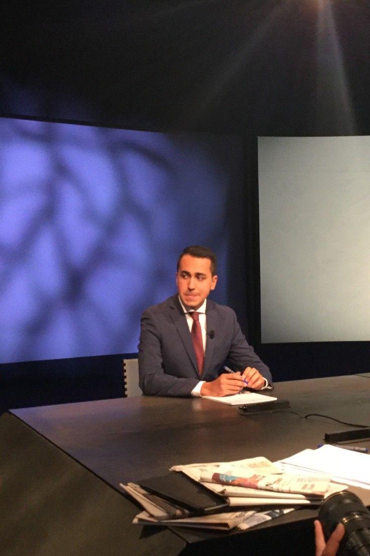 """Luigi Di Maio a In Mezzora: """"Se Renzi perde referendum e amministrative non chiederemo dimissioni"""""""
