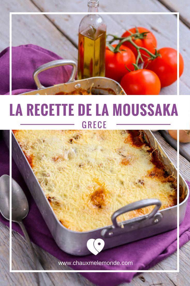 Un peu de la Grèce avec cette recette de la Moussaka - Cuisine du monde