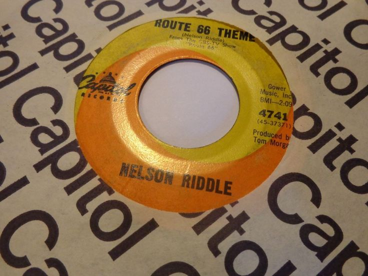 "NELSON RIDDLE -(45)- ROUTE 66 THEME / LOLITA YA YA ( FROM MOVIE ""LOLITA"") - 1962 #FilmScoreSoundtrackTVScoreSoundtrack"