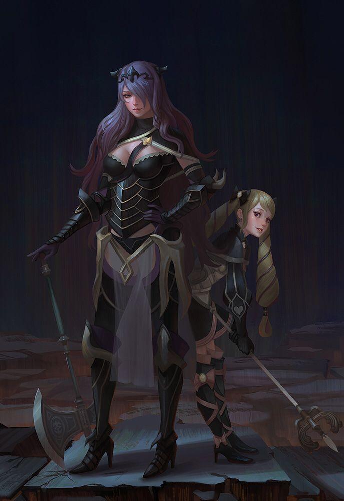 Camilla and Elise- Fire Emblem: Fates