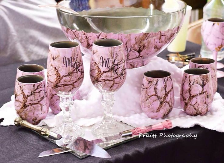 gibson pink camouflage bowl - Google Search