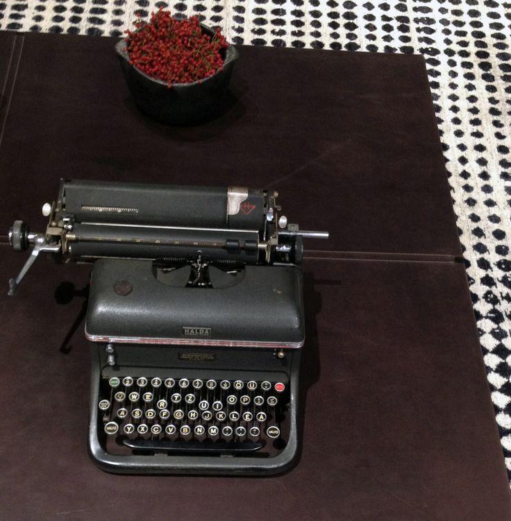 Typewriter at #Baxtercinema
