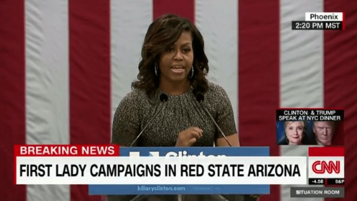Michelle Obama drags Donald Trump in Phoenix...like only she can! | Fusion