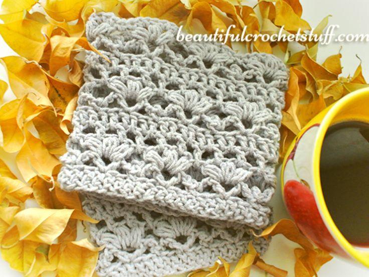 Crochet Boot Cuffs Free Pattern (Video) | Beautiful Crochet Stuff