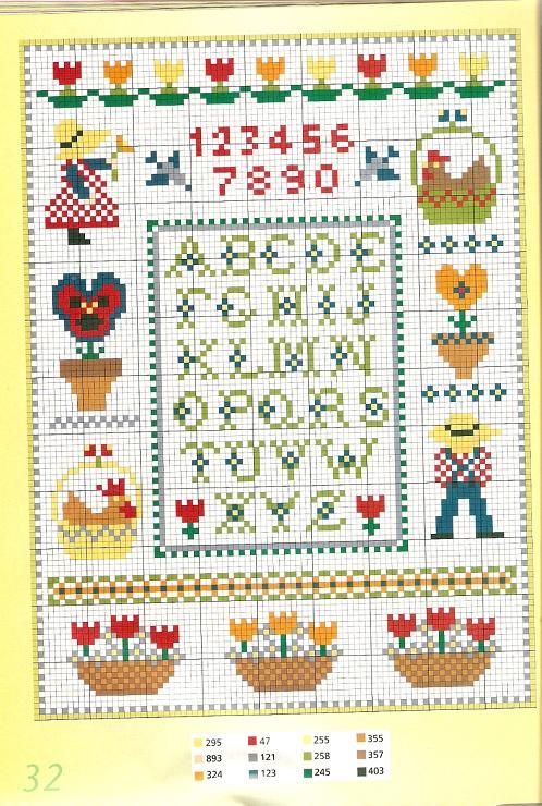 Gallery.ru / Foto # 31 - Especial Burda-230 motivos de color de punto de cruz - Orlanda