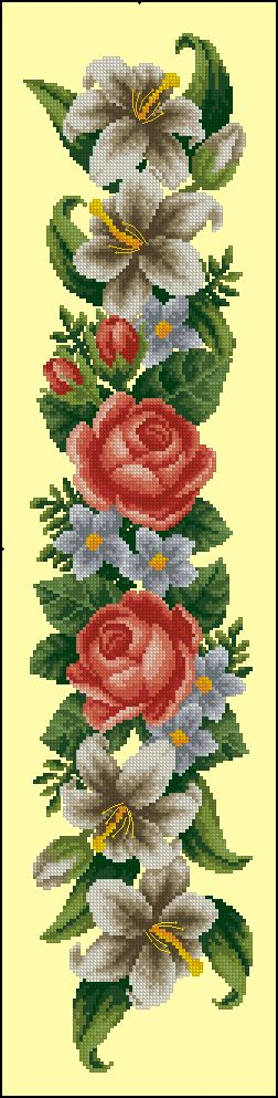 Ruže i ljiljani.