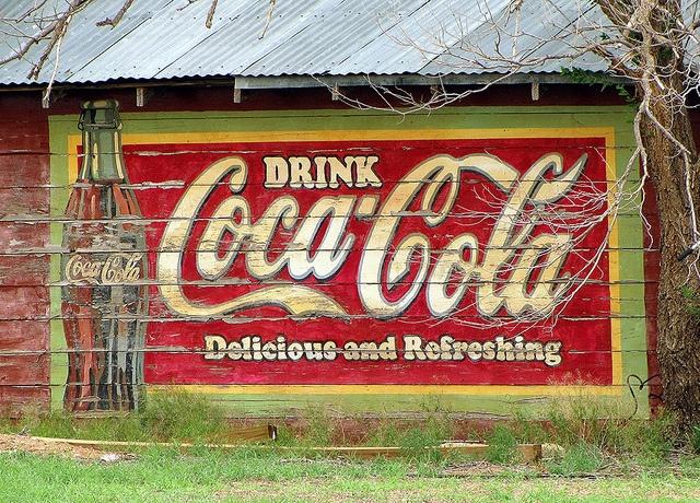 Levelland, TX Coca-Cola Ghost