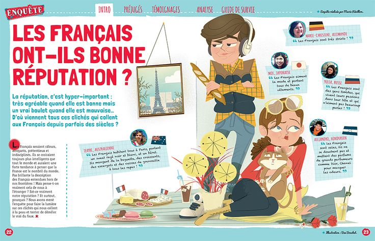 illustration for GéoADO, French magazine.