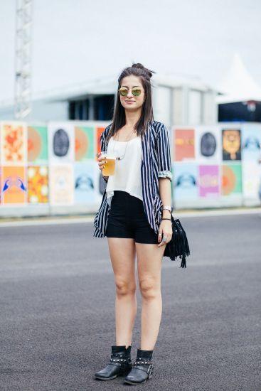 Confira os melhores looks do primeiro dia do Lollapalooza 2015 | MdeMulher: