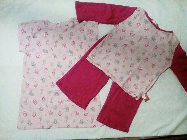 Pyžamko a nočnì košilka