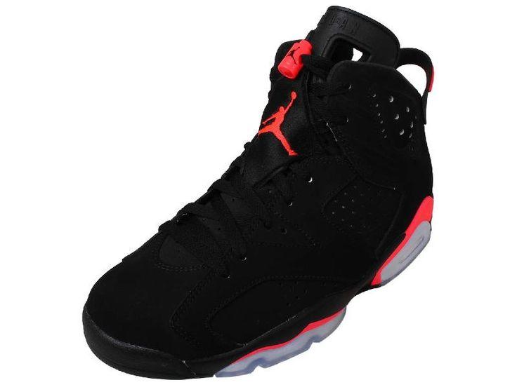 Amoshoe-Nike Men's Air Jordan 6 Retro Leather And Nubuck Basketball Shoes