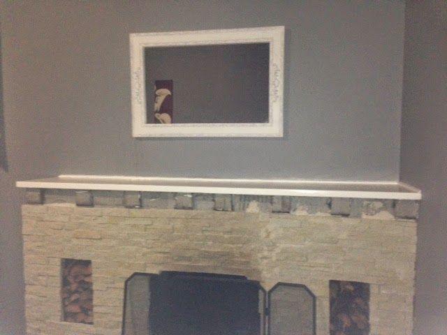 Fireplace DIY cladding & update (part 1) | Thimble CrackER DIY, fireplace, cladding, painting