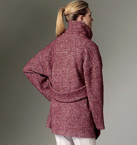 V9136, Misses' Coat