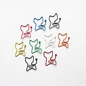 Cat Style Colorful Paper Clips (Random Color,... – AUD $ 2.46
