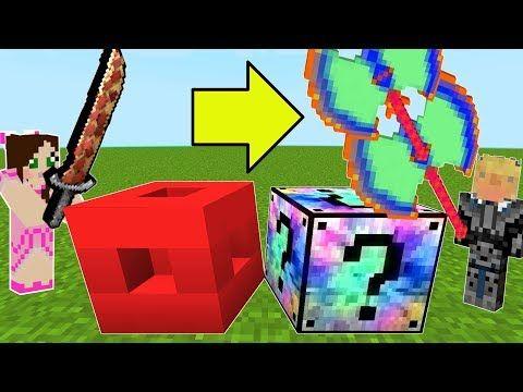 Minecraft Roblox Vs Mixed Lucky Block Challenge Modded Mini