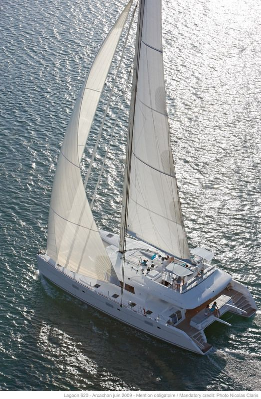Lagoon 620 Catamaran - lots of space and great for those who want less roll...