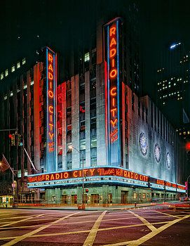 Radio City Music Hall--I saw 'Wicked' here back in '06 ( I believe) what a amazing show and great theater!