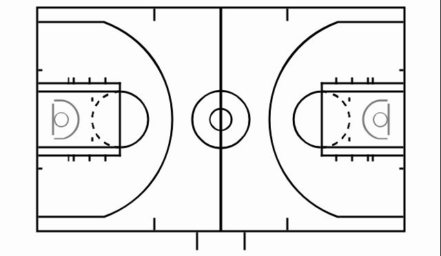 Basketball Court Design Template Awesome Basketball Court ...
