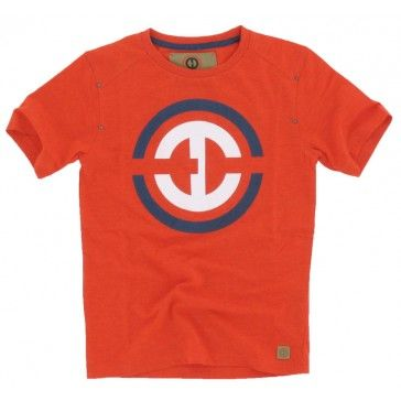 Hound - T-shirt ronde hals logo rood