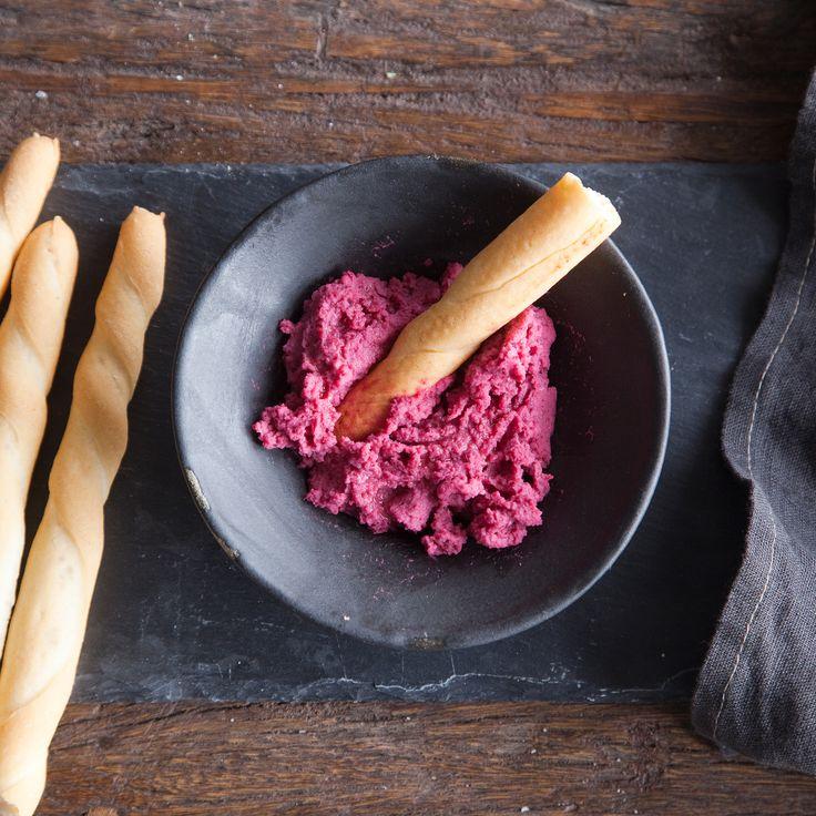 Punajuurihummus | K-Ruoka #punajuuri #hummus