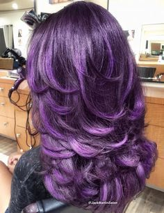 Long+Layered+Purple+Hair