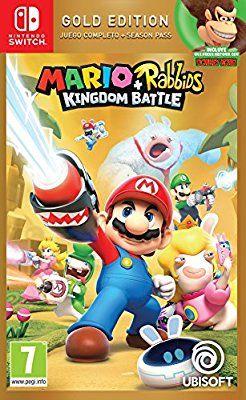 Mario Rabbids Kingdom Battle Gold Edition Nintendo Switch