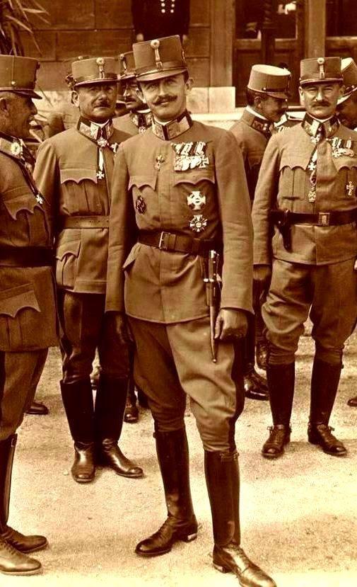 H.I.R.M. Emperor Karl I of Austria (1887-1922)