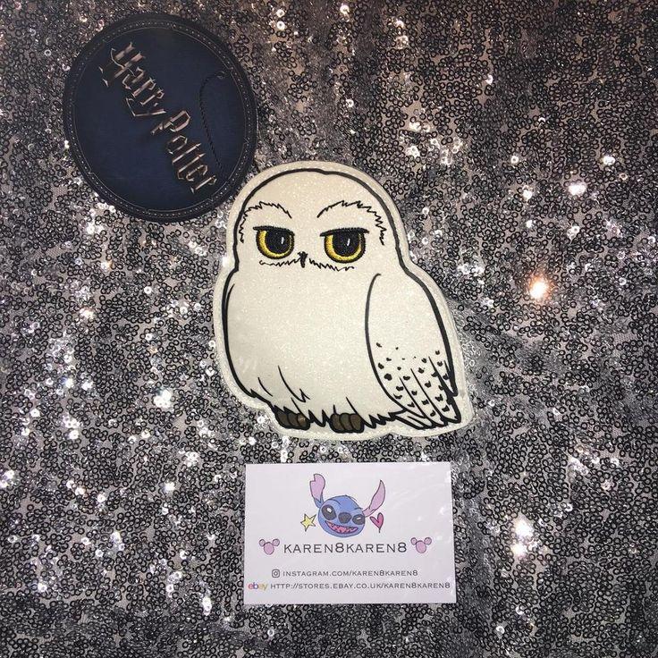 Primark HARRY PURSE HEDWIG OWL GLITTER Coin Purse