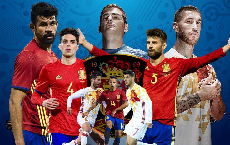 Eurocopa 2016 España Spain