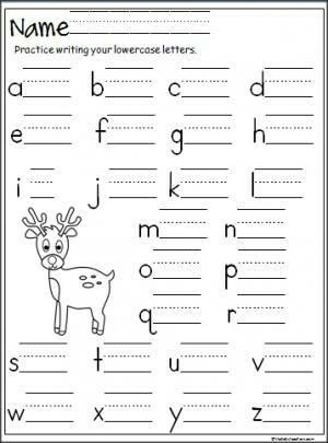 reindeer handwriting