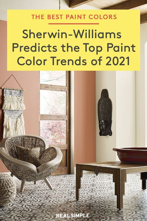 Sherwin Williams Predicts These Will Be The Top Paint Color Trends Of 2021 Trending Paint Colors Top Paint Colors Relaxing Paint Colors Living room color trends 2021