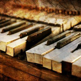 piano keys.....The beauty in them...The history in them.