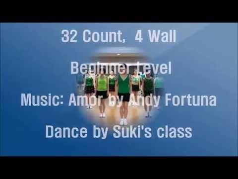 (16) Amor Cha Cha Cha Line Dance(Beginner Level) - YouTube