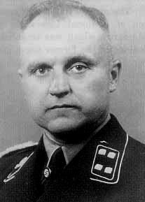 Karl-Otto Koch (August 2, 1897 – April 5, 1945), a Standartenführer (Colonel) in the German Schutzstaffel (SS), was the first commandant of the Nazi concentration camps at Buchenwald and Sachsenhausen, and later also served as a commander at the Majdanek concentration camp.