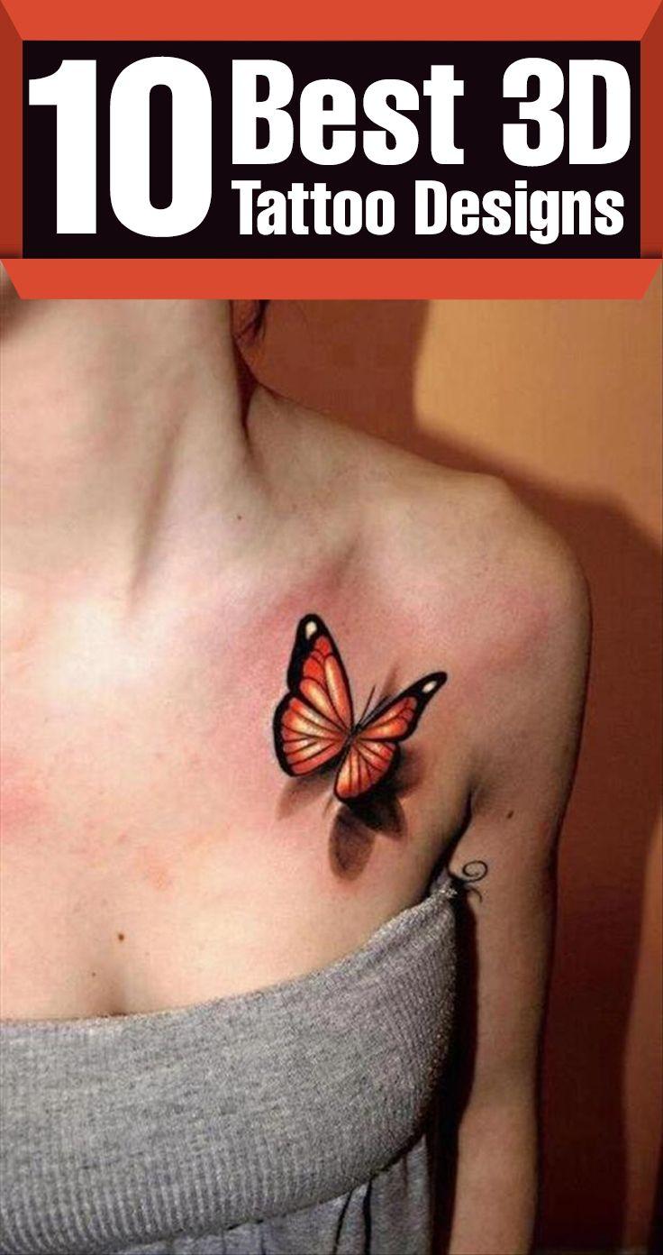 3d tattoos that will boggle your mind bizarbin - 10 Realistic 3d Tattoo Designs