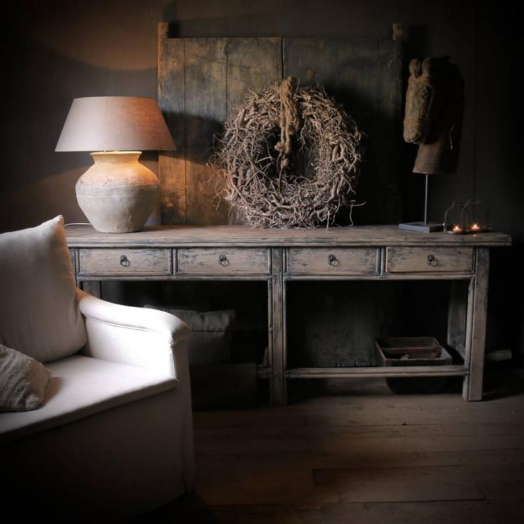 Sidetable met lades