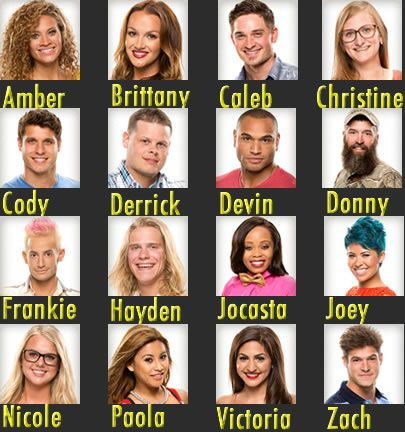 Big Brother HG's: First Impressions Here they are what do you think so far? #BB16 #TBBR #GRLOL