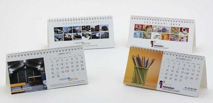 Calendario Prograf  Calendario Hispano Vema
