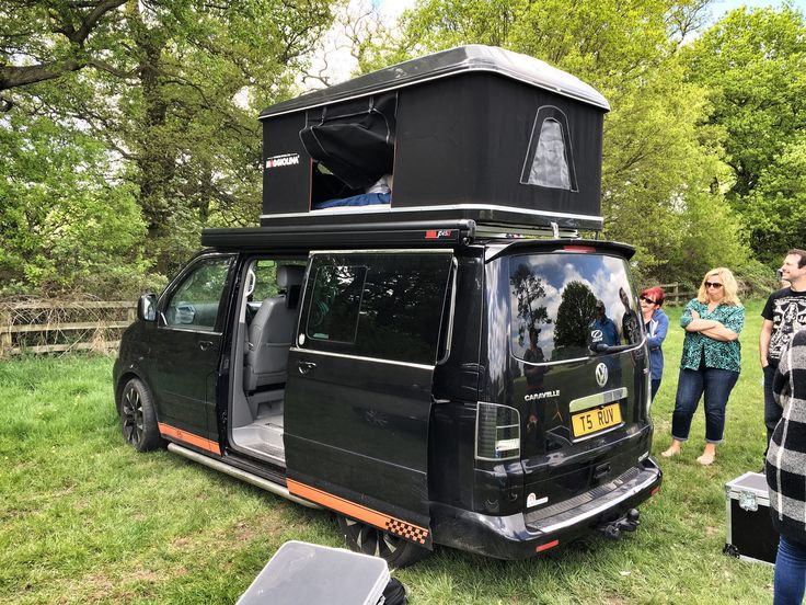 vw-caravelle-with-roof-tent & 325 best Campervan: Exterior images on Pinterest | Campers The ...