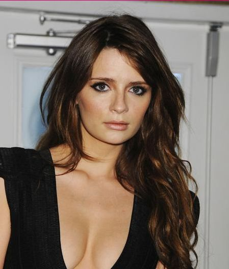 I love Mischa Barton's chestnut hair colour here