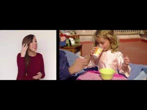 BON DIA! de Dàmaris Gelabert, en llengua de signes. - YouTube