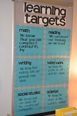 dandelions and dragonflies: learning targets