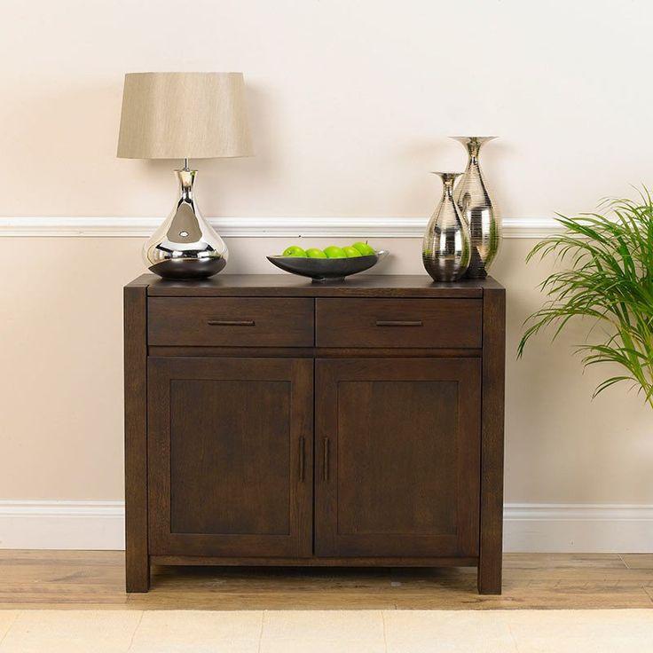 Verona Solid Oak Sideboard (Size Medium/Large/Extra Large And Oak/Drak Oak) - Medium / Dark Oak - Sideboard - Mark Harris - Space & Shape - 6
