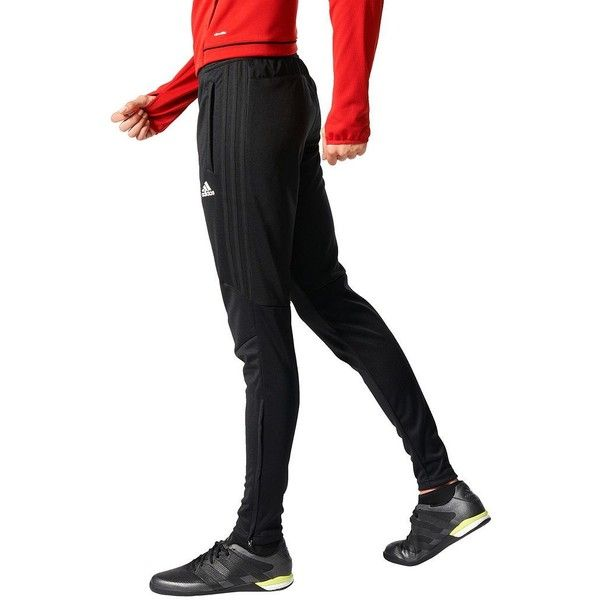 Women's Adidas Tiro 17 Training Pants ($45) ❤ liked on Polyvore featuring activewear, activewear pants, black, adidas activewear, adidas sportswear and adidas
