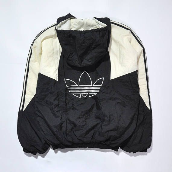 Rare Vintage ADIDAS Hip Hop Bomber Coat Jacket // Retro ADIDAS // RUN DMC / Old School Adidas // Adidas 90s // Adidas Windbreaker // Adidas TREFOIL Hoodie / 80s / 90s Fashion Outfits // Retro Streetwear // Windbreaker // Oldschool // men // women // unisex // Rare Clothing Clothes Items // style // Sportwear // Outdoor // etsy