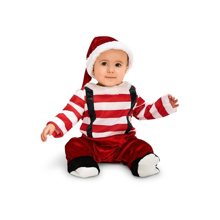Halloween Lil' Elf Infant Costume 18-24 Months, Infant Unisex, Size: 18-24 M, Multicolored