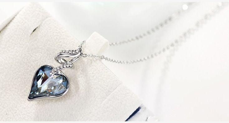 Swarovski Crystal Elements jewelry set. Get 10% off code: Swa-074