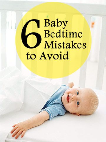 Most babies are ready to sleep through the night by 3 to 4 months -- if their parents let them. Learn how these common mom-and-dad errors can turn your baby into a poor sleeper.  http://www.parents.com/baby/sleep/basics/bedtime-mistakes-to-avoid1/?socsrc=pmmpin130308pttBedtimeMistakes