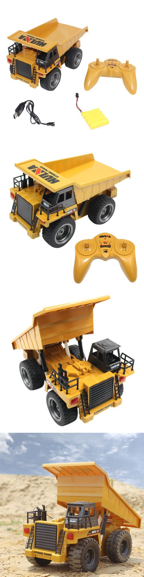 Industrial and Service Vehicles 182184: 2.4G 6 Ch Functional Dump Truck Toy Car Vehicle Electric Rc Remote Control Model -> BUY IT NOW ONLY: $47.69 on eBay!